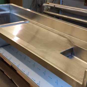 Stainless Steel Lab Areas